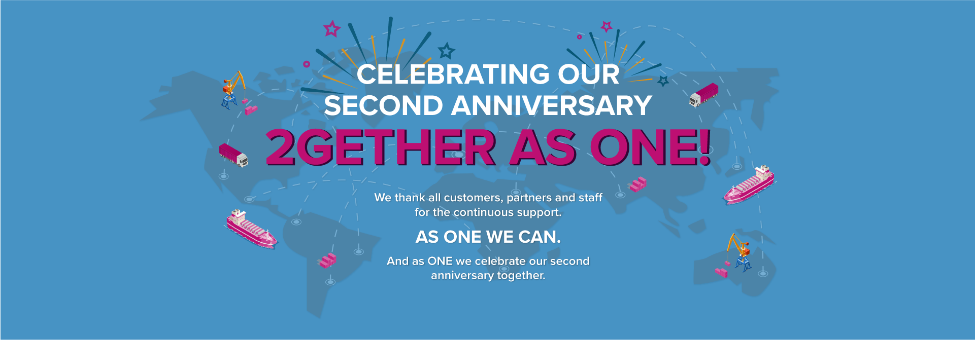 ONE SecondAnniversary
